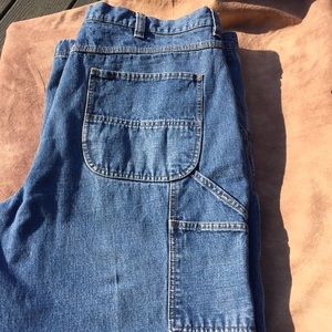 L.L Bean Mens Carpenter Jeans 40x30